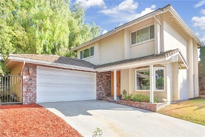 La Habra Single Family Home For Sale: 1240 Maple Tree Court