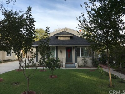 Pasadena Single Family Home For Sale: 1700 N Summit Avenue