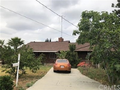 West Covina Single Family Home For Sale: 17049 E Francisquito Avenue