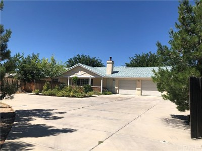 Hesperia CA Single Family Home For Sale: $459,000
