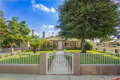 Chino Single Family Home For Sale: 13039 13th Street