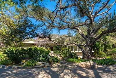 Pasadena Single Family Home For Sale: 1978 Sierra Madre Villa Avenue