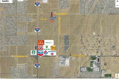 Victorville Residential Lots & Land For Sale: Villa Street