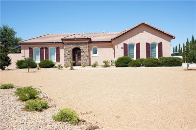 Apple Valley Single Family Home For Sale: 12524 Yorkshire Drive