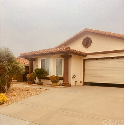 Menifee Single Family Home For Sale: 28270 Avenida Francesca