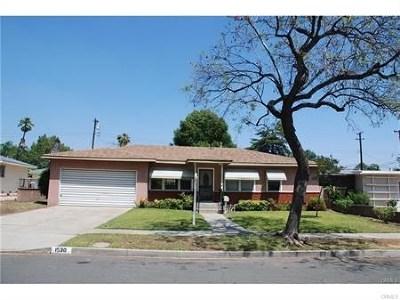 Pomona Single Family Home For Sale: 1530 Carol Drive
