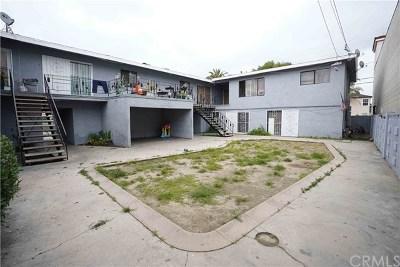 Compton Multi Family Home For Sale: 1714 E San Luis Street