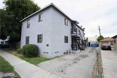 Compton Multi Family Home For Sale: 1704 E San Luis Street