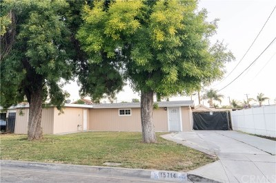 Hacienda Heights Single Family Home For Sale: 15714 Clarkgrove Street