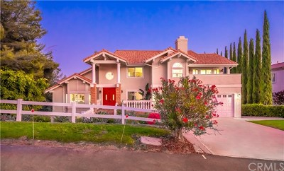 Diamond Bar Single Family Home For Sale: 23916 Ridge Line Road