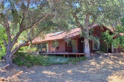 Oakhurst Single Family Home For Sale: 41094 Road 425a