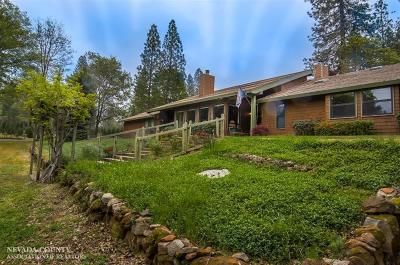 Grass Valley CA Single Family Home SOLD: $625,000