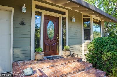 Grass Valley CA Single Family Home SOLD: $599,000