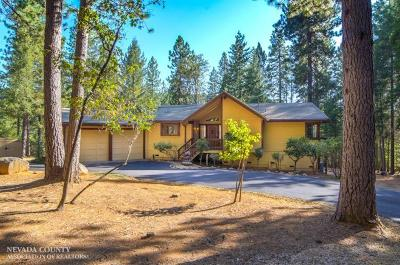 Nevada City CA Single Family Home SOLD: $550,000