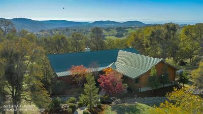 Grass Valley CA Single Family Home For Sale: $1,200,000