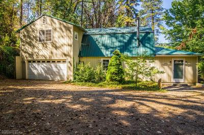 Nevada City CA Single Family Home Sold: $242,000