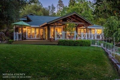 Nevada County Single Family Home For Sale: 19168 Chaparral Drive
