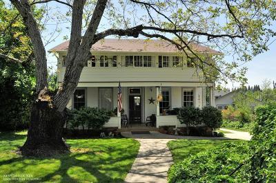Grass Valley Single Family Home For Sale: 232 Bennett Street