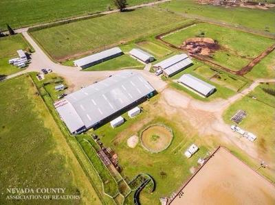Butte County, Nevada County, Placer County, Sacramento County, Sierra County, Sutter County, Yuba County Single Family Home For Sale: 2086 McCourtney Road