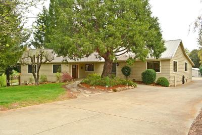 Grass Valley Single Family Home For Sale: 15971 Mount Olive Road
