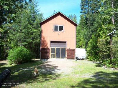 Nevada City Single Family Home For Sale: 12000 Zeibright Road