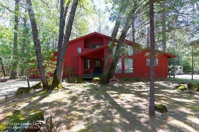 Nevada County Single Family Home For Sale: 15017 Pammy Way