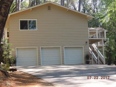 Grass Valley Single Family Home For Sale: 15219 Beeman Lane