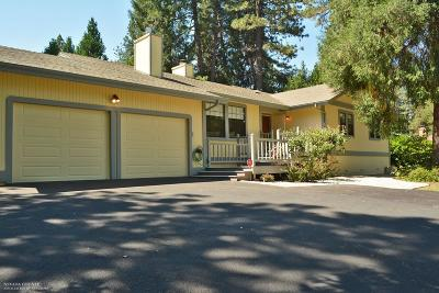 Nevada City Single Family Home For Sale: 11295 Via Vista Street