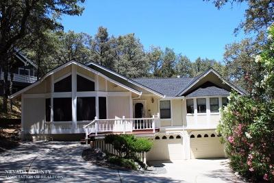 Nevada County Single Family Home For Sale: 20489 Chaparral Circle