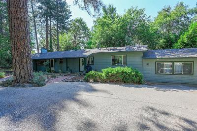Nevada City Single Family Home For Sale: 11591 Ridge Road