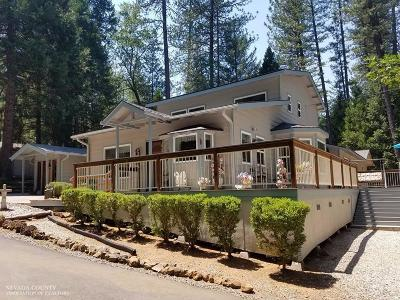 Nevada County Single Family Home For Sale: 13690 Fletcher Lane