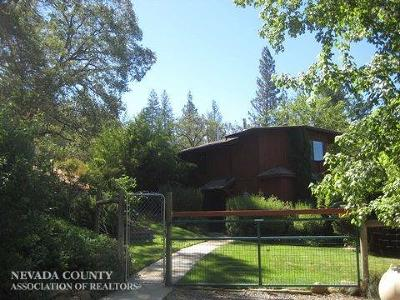 Nevada City Single Family Home For Sale: 28831 New School Road