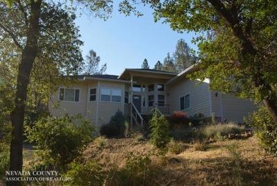 Nevada County Single Family Home For Sale: 17075 Oscar Drive