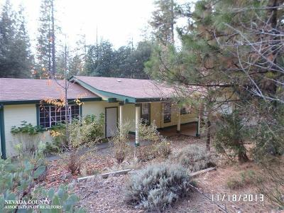 Nevada City Single Family Home For Sale: 12638 Evergreen Court