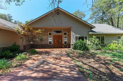 Nevada County Single Family Home For Sale: 19372 Buck Ridge Road