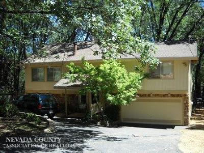 Grass Valley Single Family Home Active Shrt Sale Con: 18197 Lawrence Way