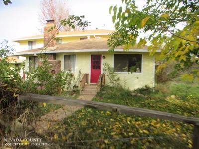 Grass Valley Single Family Home Active REO: 13854 Garden Bar Road
