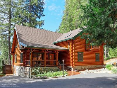 Nevada City Single Family Home For Sale: 19439 Teddy Bear Way