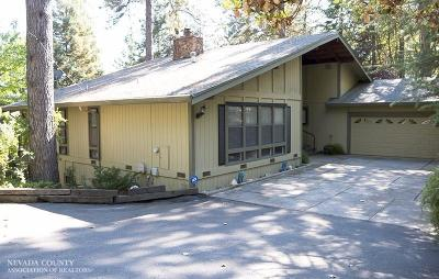 Nevada County Single Family Home For Sale: 11905 Alta Sierra Drive