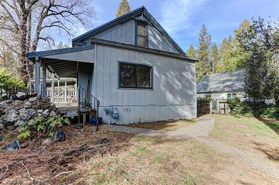 Nevada City CA Single Family Home For Sale: $325,000