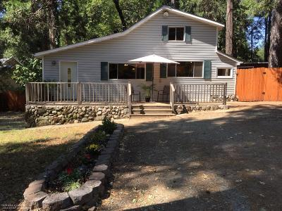Nevada City CA Single Family Home For Sale: $288,000