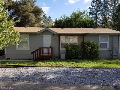 Penn Valley CA Single Family Home For Sale: $185,000