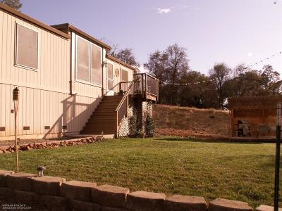 Nevada County Single Family Home For Sale: 10208 Eagle Mountain Road