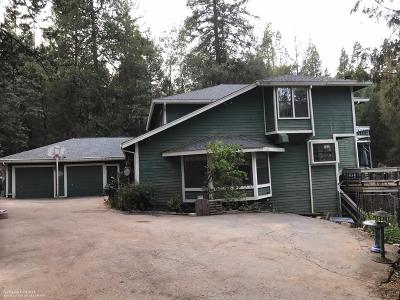 Grass Valley Single Family Home For Sale: 15800 Greenhorn Road