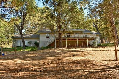 Nevada County Single Family Home For Sale: 20040 Wolf Creek Road