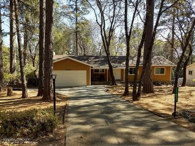 Nevada County Single Family Home For Sale: 11631 Alta Sierra Drive