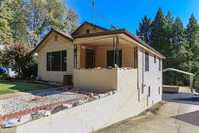 Grass Valley Single Family Home For Sale: 273 Manor Drive