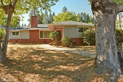 Grass Valley Single Family Home For Sale: 380 Mill Street