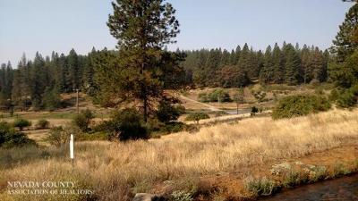 Nevada City CA Residential Lots & Land For Sale: $179,000