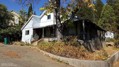 Grass Valley Single Family Home For Sale: 156 Harris Street